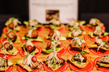 This appetizer, from Mark Trela at Earls Kitchen, was a hit at last year's Savor Lincoln Park.