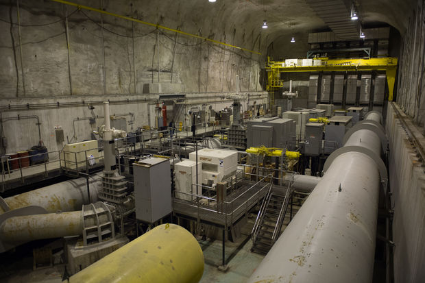 The Calumet TARP Pumping Station is the lowest point of the TARP System and lowest point in Chicago.