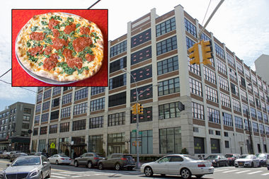 Two Boots Pizza, Vanessa's Dumpling House and Papillon's Bistro will be opening sites in the lobby of The Factory at 30-30 47th Ave.