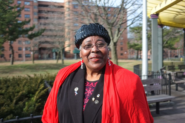 Lolita P. Miller, who move to the Ocean Bay Apartments 48 years ago, hopes the new public/private partnership will make vital improvements to the complex.