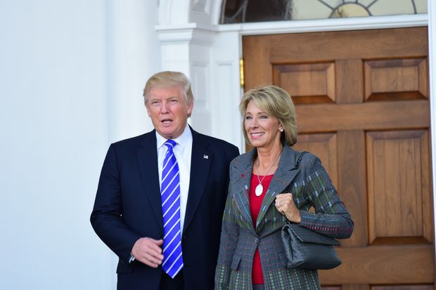 At least four of the city's Community Education Council are speaking out against Trump's nominee for education secretary.