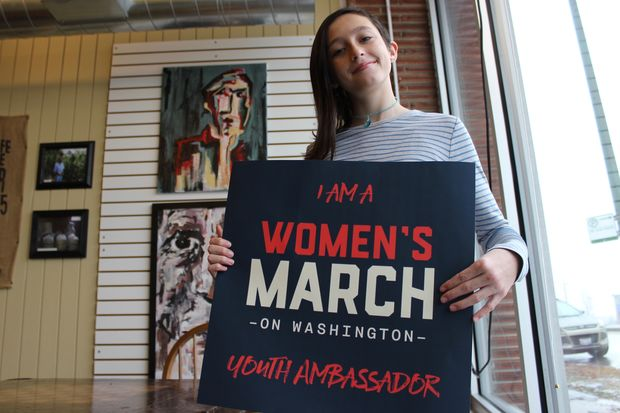 Cora Haworth of Beverly has been chosen as a youth ambassador for the Women's March on Washington D.C.