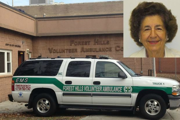 Josephine Bebirian, who co-founded the Forest Hills Ambulance Corps in 1971, died on Jan. 13.