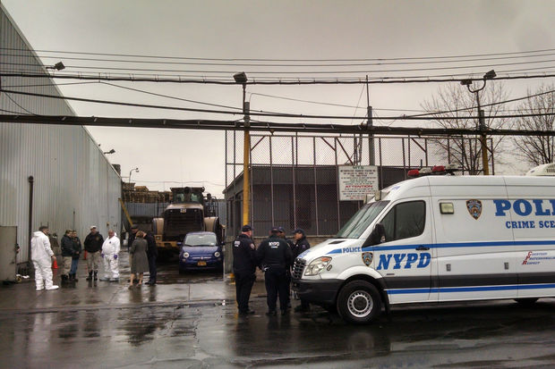It wasn't immediately clear how the body parts got to the Metropolitan Transfer Station, police said.