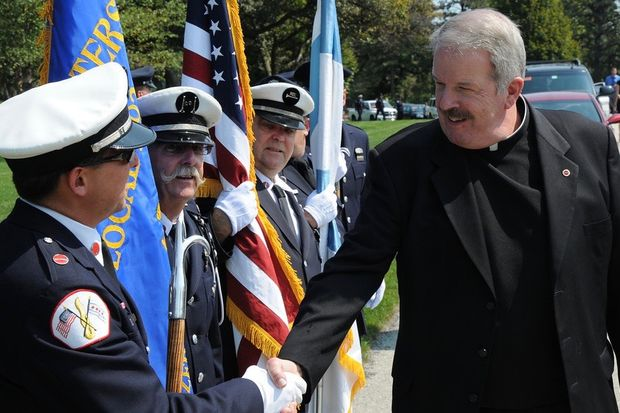 The Rev. Thomas Mulcrone will retire June 30 as chaplain for the Chicago Fire Department. He will remain active as a priest and continue to minister at St. Mary of Providence in Streeterville.