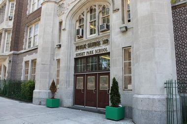 P.S. 169 in Sunset Park is one of several overcrowded schools in the neighborhood. Officials with the School Construction Authority will present plans Wednesday on new schools and new seats in District 15.