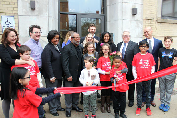 West Loop and Chicago Children's Theatre leaders officially opened the theater's new home
