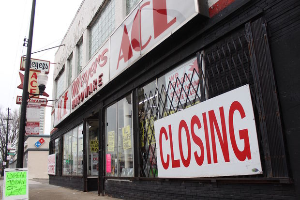 Meyers Ace Hardware, once a popularjazz club, is closing, and the future of its historic murals remains unknown.