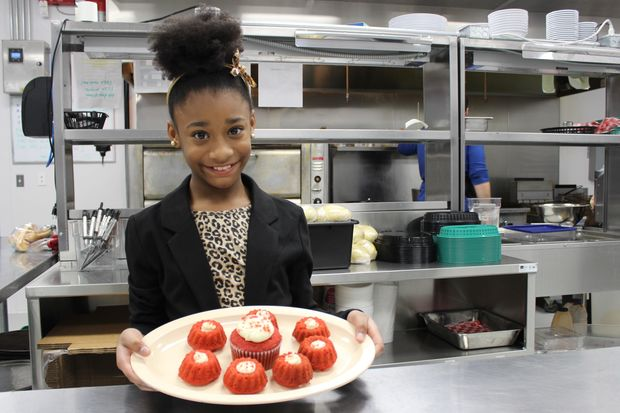 """Na'imah Johnson of Beverly is among 40 contestants on Season 5 of """"MasterChef Junior,"""" which debuts at 7 p.m. Feb. 9 on FOX-32 Chicago. Her favorite recipes include red velvet cake and inside-out burgers or burgers filled with cheese and grilled onions."""