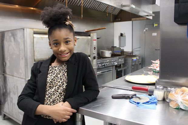 """Na'imah Johnson of Beverly is among 40 contestants on season fiveof """"MasterChef Junior,"""" which debuts at 7 p.m. tonight on FOX32. Her favorite recipes include red velvet cake and inside-out burgers,pattiesfilled with cheese and grilled onions."""