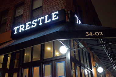 Trestle, on Broadway and 34th Street, will open in mid-February, its owner said.