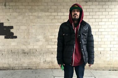 Tony Marquez, 29, lives at the Atlantic Terminal Houses with his 9-year-old son. While he doesn't smoke in the apartment or around his son, he said the smoking ban that was recently passed for public housing complexes would likely lead him to quit.