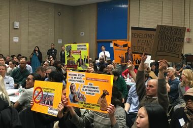 Incensed residents halted an input session hosted by developers to demand an extended community engagement process.
