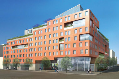 The Park Haven affordable housing project is expected to include apartments for as low as $736 per month.