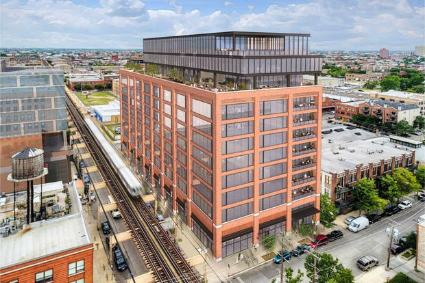 The Chicago Plan Commission approved 12-story office building in Fulton Market Thursday that will house companies that work with McDonald's.