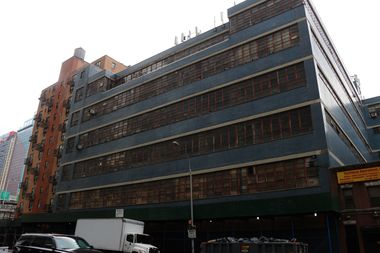 The state-owned Hunter College building at 450 W. 41st St., between Ninth and 10th avenues.