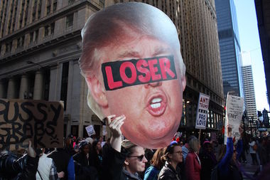 The next big anti-Trump protest in Chicago is April 15.