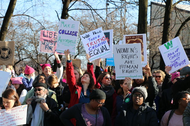 250,000 People Protest At Women's March On Chicago, Organizers Say – DNAinfo Chicago