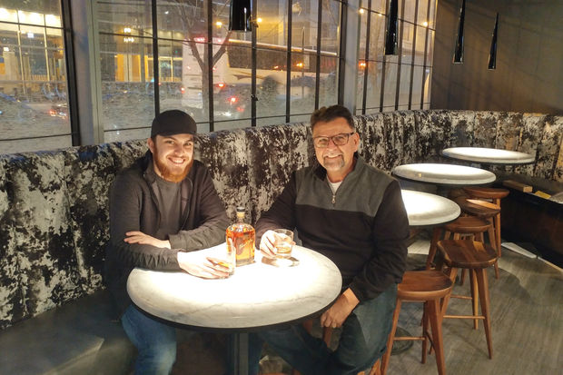 Father-son team Tyler and Art Mendoza will open Slightly Toasted, a new toast and whiskey bar at 22 N. Clinton St. in the West Loop this month.
