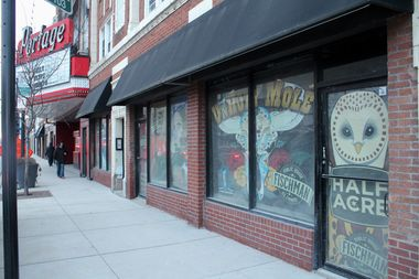 The owners of Fischman's Public House, 4050 N. Milwaukee Ave., are aiming to open their bottle shop by March.