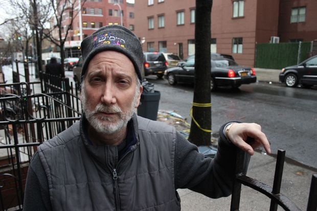 Seth Braunstein, 56, a Modern Orthodox Jewish clothing designer who's lived in Williamsburg since 1995.