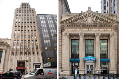 The Landmarks Preservation Commission (LPC) voted on Tuesday to designate the People's Trust Company building at 181 Montague St. (at right) and the National Title Guaranty Company building at 185 Montague St. as city landmarks.