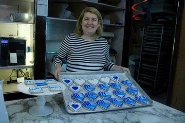 Dobra Bielinski, owner of Delightful pastries, 5927 W. Lawrence Ave.