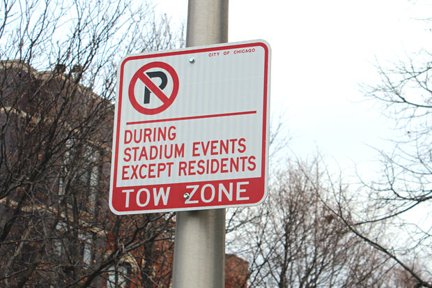New parking restrictions on city streets near the United Center have caused confusion among neighbors living west of Damen on the Near West Side.