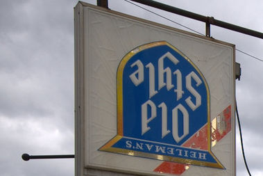 An upside-down beer sign once served as a fairly reliable if not foolproof code for gay bars in Chicago.