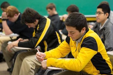 The annual Catholic high school entrance exam will now be held the first Saturday of December, according to the Archdiocese of Chicago.