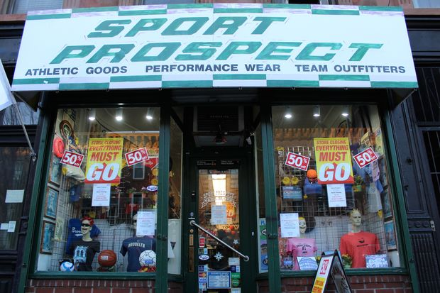 Sport Prospect, the sporting goods shop that's been at 362 Seventh Ave. since 1988, is closing. Co-owners and brothers Carl and Anthony Manco are retiring.