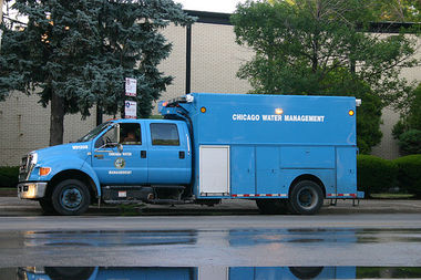A Chicago Water Department truck was stolen in Fuller Park Wednesday morning but recovered less than 20 minutes later.