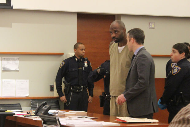Somorie Moses appeared in court on Thursday and had his case moved to Brooklyn.