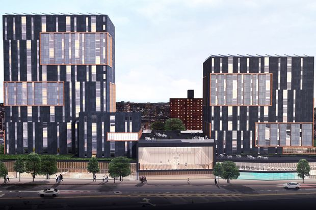 The new development will be built on 168th Street in downtown Jamaica.