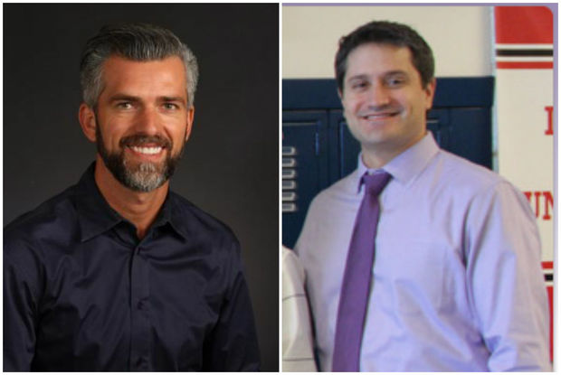 Damir Ara, assistant principal at Lane Tech College Prep High School and Peter Auffant, principal at James Shields Middle School, are vying for the spot of Principal at Mather High School in West Ridge.
