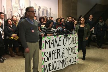 City officials must do more to protect undocumented immigrants in Chicago, representatives of several groups made up of Black and Latino Chicagoanssaid Thursday.