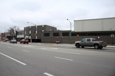 The complex would replace the current structure, a former food distribution center, across Milwaukee Avenue from the Jefferson Park District police station.