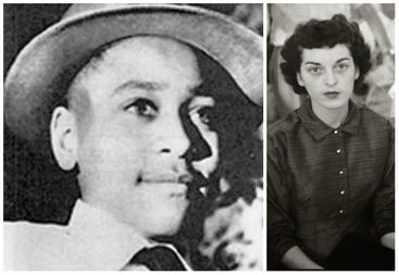 Carolyn Bryant (right) said she lied about 14-year-old Emmett Till groping and harassing her in a Mississippi store. That lie cost Till his life.