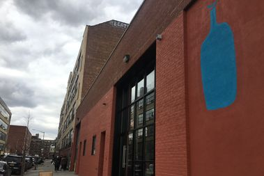 Blue Bottle opened at 279 McKibbin St. on Friday.