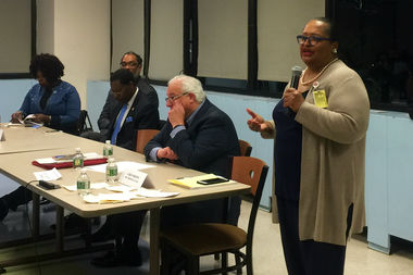 LaRay Brown, Interfaith Medical Center's CEO and president, discusses the changes that could affect the hospital under recommendations from the state to create a new health care network in central and north Brooklyn.