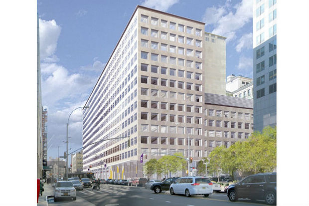 A rendering of NYU's new technology center at 370 Jay St. in Downtown Brooklyn.