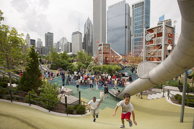 Michael Van Valkenburgh Associates, which designed Maggie Daley Park, has been picked to lead the design of the grounds of the Obama library.
