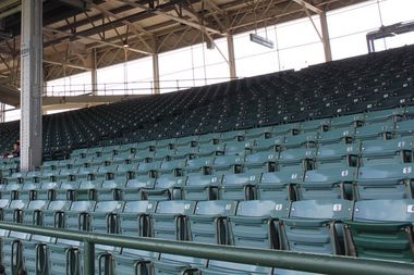 The Chicago Cubs are selling Wrigley Field seats removed in 2015 and 2016.