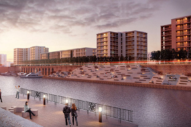Barcelona Housing Systems has released renderings showing its plans for 12,000 homes for U.S. Steel's South Works site.