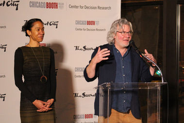 Heather Caruso of the Center for Decision Research and Second City's Kelly Leonard explain their unlikely partnership.