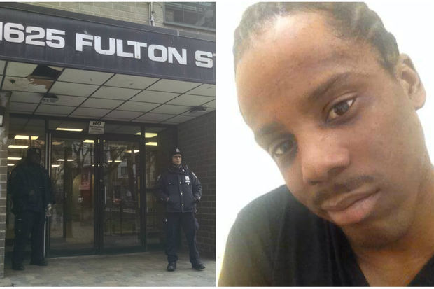 Maurice Lindsey, 29, was gunned down in a hallway of 1625 Fulton St., police said.