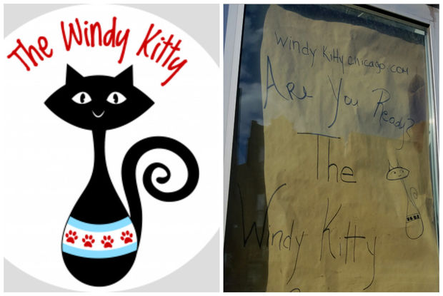 The Windy Kitty Cafe is opening soon at 1746 W. North Ave.
