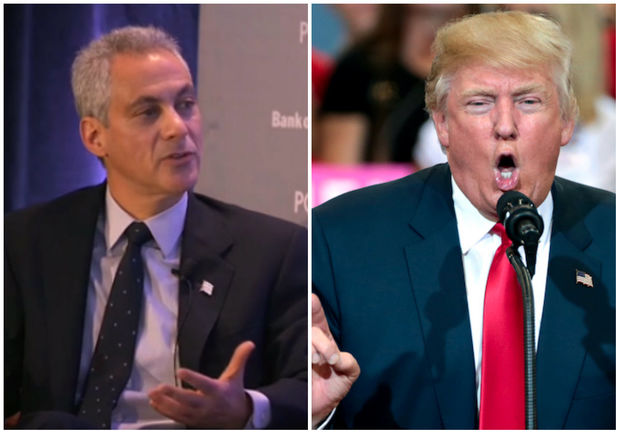 Mayor Rahm Emanuel Tuesday blasted the Trump administration for suggesting that strict gun control laws wouldn't stop mass shootings like the one Sunday in Las Vegas that killed 59 people by pointing to Chicago.