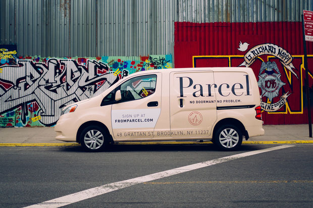 The Walmart announced they had bought the East Williamsburg based delivery service Parcel Tuesday.