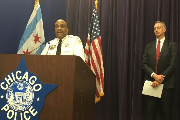 Chicago Police Supt. Eddie Johnson vowed to do a better job tracking overtime after an audit by Inspector General Joseph Ferguson (right) found the department failed to properly track its spending.